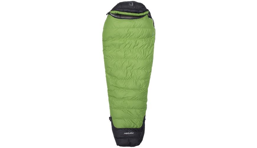 Nordisk Celsius -18° Sovepose L grøn/sort